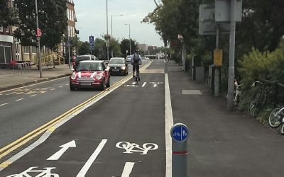 Sutton and Kingston Councils to use AI technology to improve understanding of the use of cycle lanes